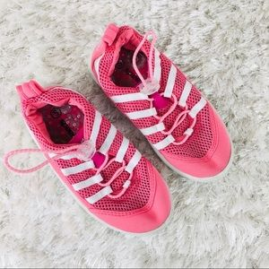 Pink Mesh Speedo Water Shoes Small